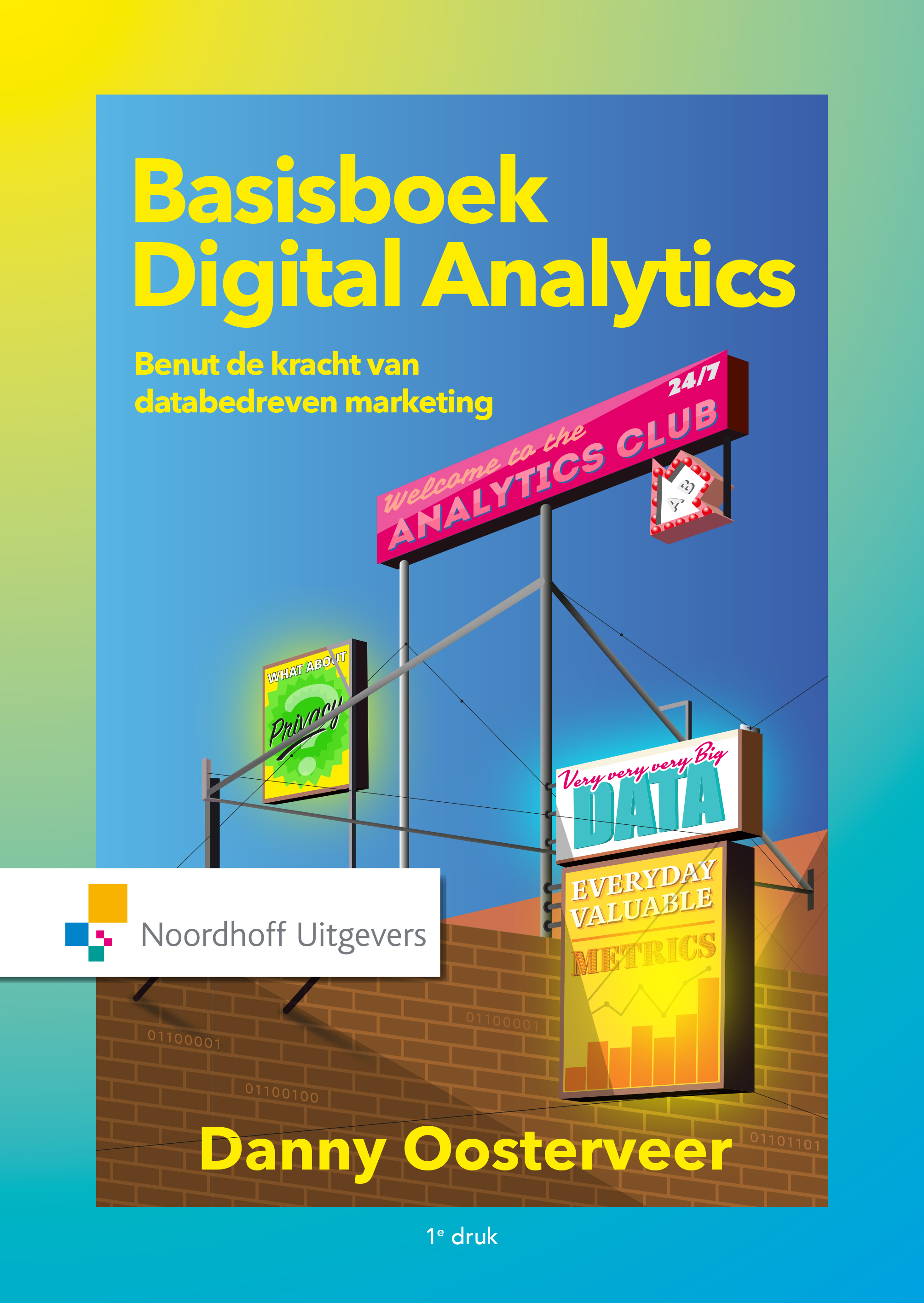 Cover Basisboek Digital Analytics
