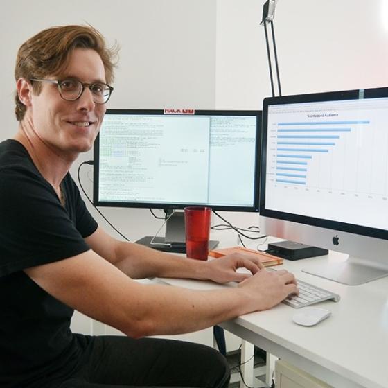 Ky Harlin, BuzzFeed's data scientist