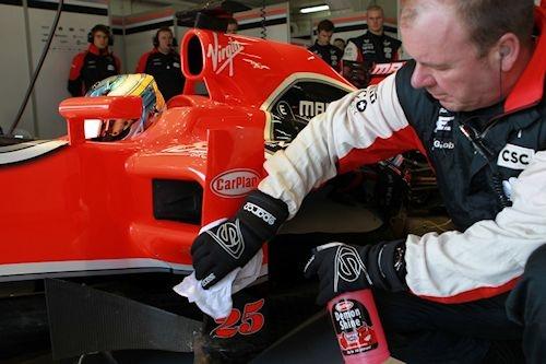 Social media reporter van het Marussia F1 team
