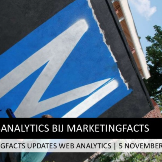 Marketingfacts Updates over Analytics