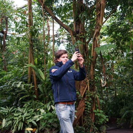 Interview met TravelNext over Instagram in de dierentuin